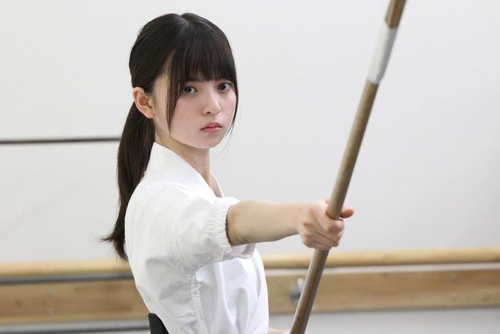 舞台「あさひなぐ」の主演を務める齋藤飛鳥(乃木坂46)。