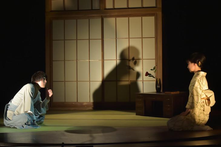 文劇喫茶シリーズ 第1弾「それから」ゲネプロより。(撮影:鏡田伸幸)