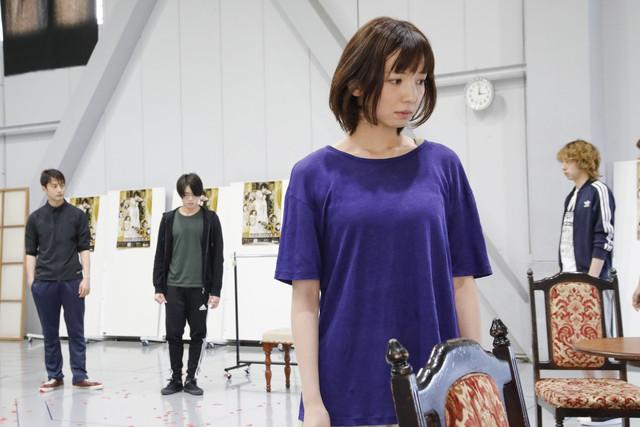 舞台「黒薔薇アリス」公開稽古より。