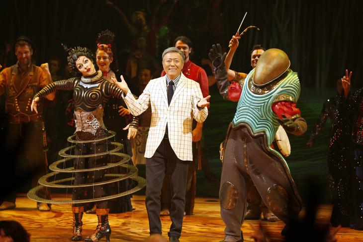 「ダイハツ トーテム」最終公演フィナーレの様子。