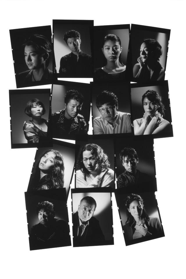 シアターコクーン・オンレパートリー2017「プレイヤー」メインビジュアル(撮影:細野晋司)