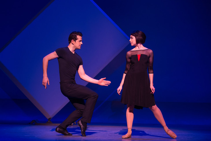 「An American in Paris(パリのアメリカ人)」より。(Photo by Matt Murphy)