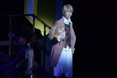 ミュージカル「悪ノ娘」公開ゲネプロより。山本和臣演じるアレン。