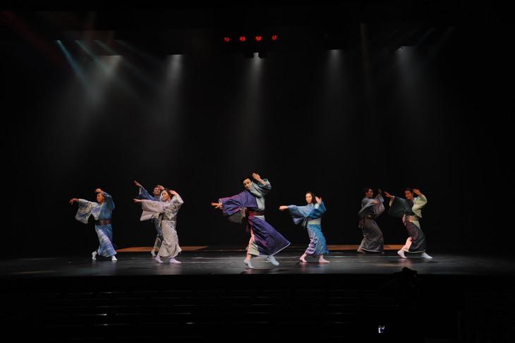 第1回 日本舞踊 未来座「賽 SAI」公開舞台稽古より。