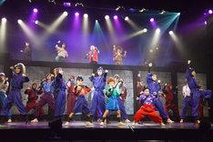 「ミュージカル『忍たま乱太郎』第8弾 再演 ~がんばれ五年生!技あり、術あり、初忍務!!~」ゲネプロより。