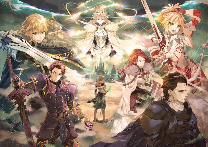 「Fate/Grand Order THE STAGE -神聖円卓領域キャメロット-」細居美恵子による舞台イメージイラスト第2弾。
