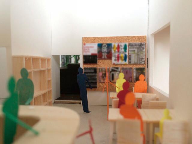 「Theatre E9 Kyoto」カフェのイメージ。