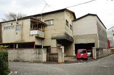 「Theatre E9 Kyoto」予定地の現状の様子。