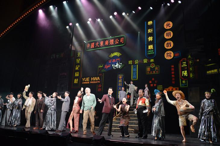 cube 20th. presents 音楽劇「魔都夜曲」ゲネプロより。