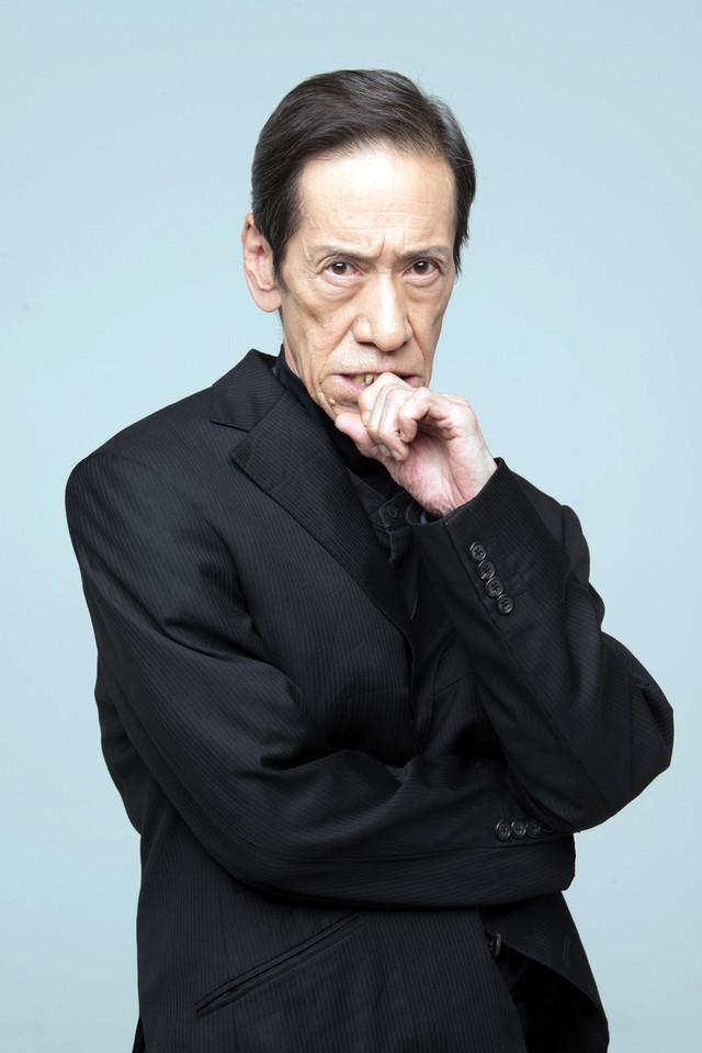 斎藤洋介演じる老練の刑事役のイメージカット。