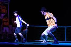 「ミュージカル『テニスの王子様』3rdシーズン 青学(せいがく)vs立海」ゲネプロより。