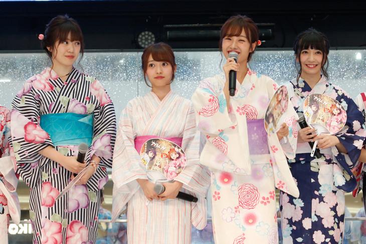 「まじかるすいーとプリズム・ナナ ザ・スターリーステージ」公開制作発表会より。