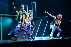 「B-PROJECT on STAGE『OVER the WAVE!』」ゲネプロより、THRIVE。