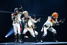 「B-PROJECT on STAGE『OVER the WAVE!』」ゲネプロより、KiLLER KiNG。