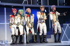 「B-PROJECT on STAGE『OVER the WAVE!』」ゲネプロより、MooNs。