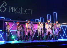 「B-PROJECT on STAGE『OVER the WAVE!』」ゲネプロより。