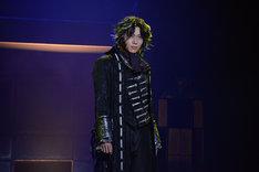 ピースピット2017年本公演「グランギニョル」より。染谷俊之演じるダリ・デリコ。