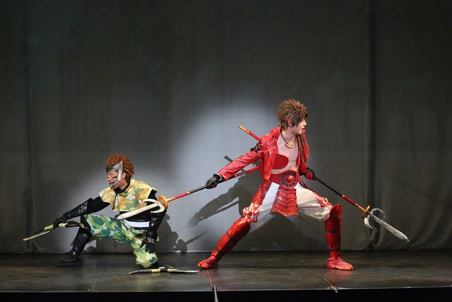 「斬劇『戦国BASARA』小田原征伐」より。(撮影:宮川舞子)
