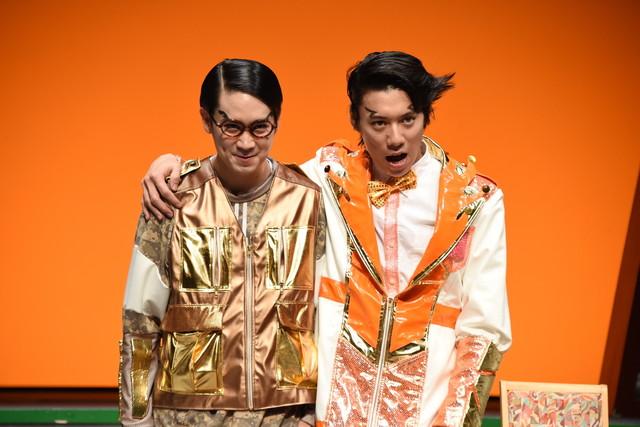 左から齊藤教兵演じる花椰子キイチ、伊勢大貴演じる雷モン。