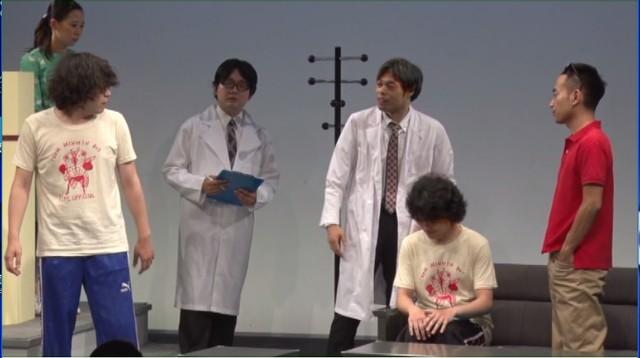 劇団かもめんたる 第1回公演「Semi-nuida!」より。
