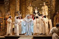 「トゥーランドット」より。(c)Marty Sohl/Metropolitan Opera