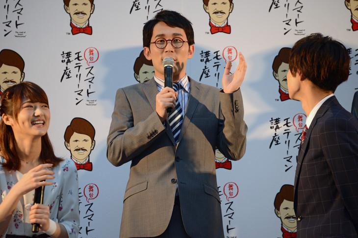 シソンヌじろう(後列中央)