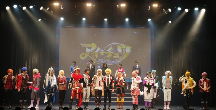 「アイ★チュウ ザ・ステージ ~Stairway to Etoile~」大阪公演の様子。