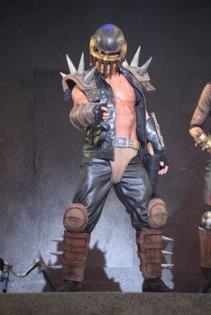 角田信朗演じるジャギ。