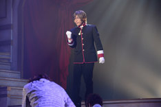 「王室教師ハイネ-THE MUSICAL-」ゲネプロより、安達勇人演じるブルーノ。