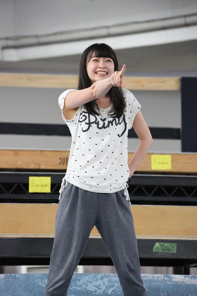 「『少女☆歌劇 レヴュー・スタァライト―The LIVE―』#1」公開稽古より。岩田陽葵。