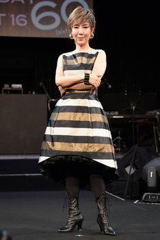 戸田恵子「60th Anniversary Live Show『Happy Birthday Sweet 60』」囲み取材より。戸田恵子。