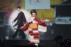 戸田恵子「60th Anniversary Live Show『Happy Birthday Sweet 60』」公開稽古より。戸田恵子。