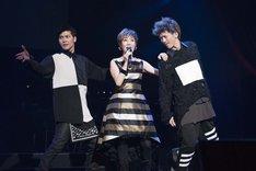 戸田恵子「60th Anniversary Live Show『Happy Birthday Sweet 60』」公開稽古より。