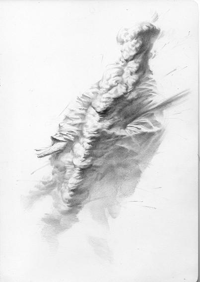 ディエゴ・シルリ「The Thickness of Silence」展示作品(Copyright by the artist, Courtesy of the artist and 104GALERIE)