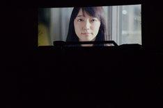 ともだちのおとうと「宇宙船ドリーム号」より。吉岡里帆演じるマチコ(映像出演)。
