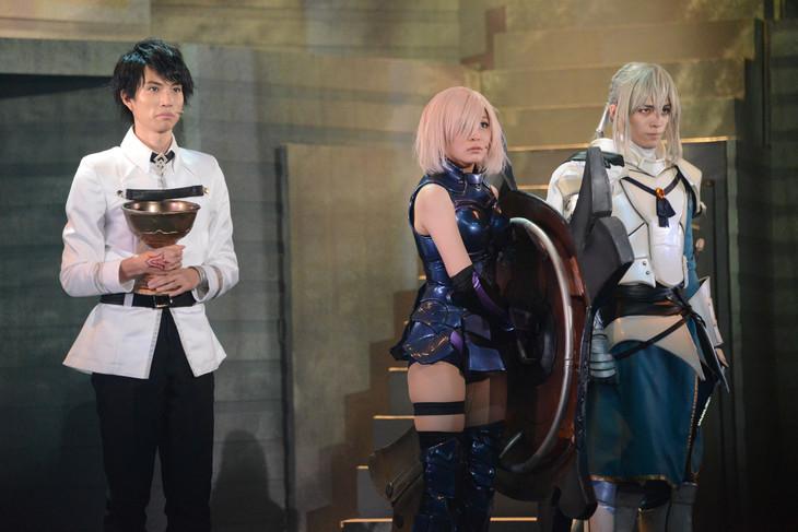 「Fate/Grand Order THE STAGE -神聖円卓領域キャメロット- Replica; Agateram」ゲネプロより。