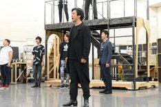 ミュージカル「スカーレット・ピンパーネル」公開稽古より、石丸幹二。