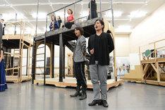 ミュージカル「スカーレット・ピンパーネル」公開稽古より。