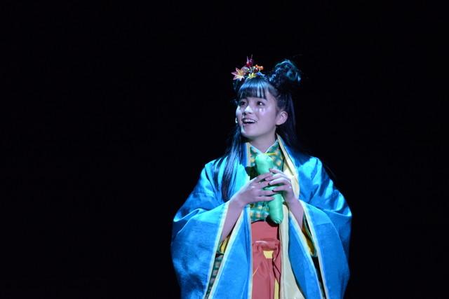 乃木坂46 3期生公演「見殺し姫」公開ゲネプロより。那由他役の大園桃子。