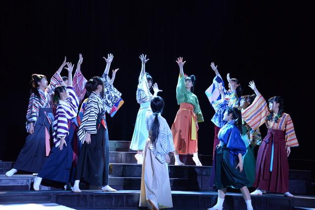乃木坂46 3期生公演「見殺し姫」公開ゲネプロの様子。