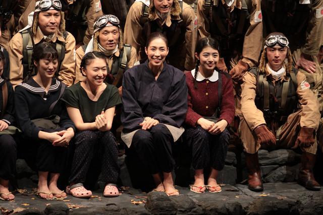 「戦後72年を飛び越えて『MOTHERマザー~特攻の母 鳥濱トメ物語~』」の出演者。