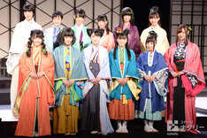 乃木坂46 3期生公演「見殺し姫」囲み取材より。