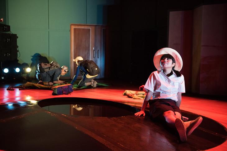 2016年上演の「DRUMS」(脚本・演出:中野成樹)より。Pictures courtesy of Esplanade Theatres on the Bay