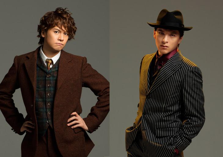 左から浦井健治演じるデビッド、城田優演じるチーチ。