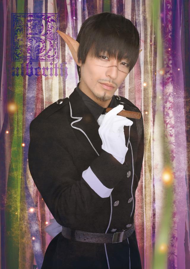 遠藤誠演じるバアルベリト。