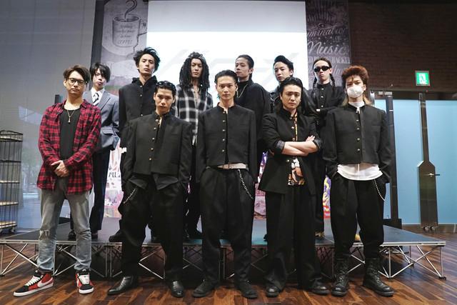劇団番町ボーイズ☆第10回本公演「舞台『クローズZERO』」公開記者発表会より。