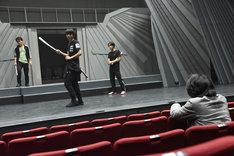 サムライ・エンターテインメント「アラタ~ALATA~」稽古の様子。
