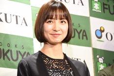 「~刑事・雪平夏見シリーズ~ 舞台『アンフェアな月』」製作発表より。篠田麻里子。
