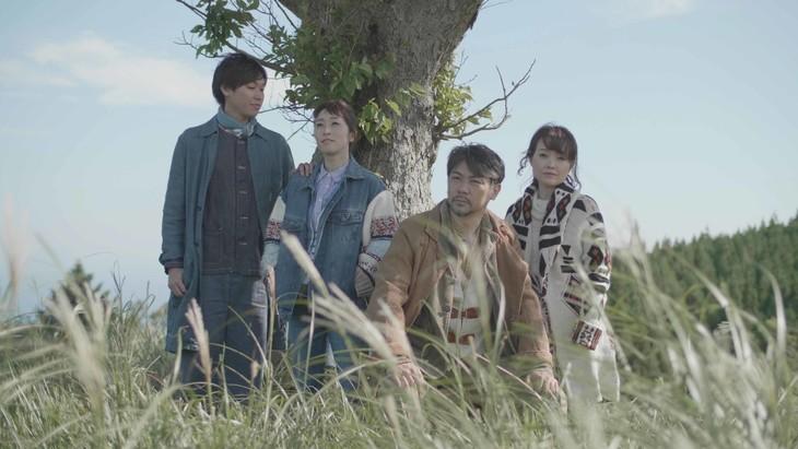 左から、法月康平、綿引さやか、岸祐二、入絵加奈子。