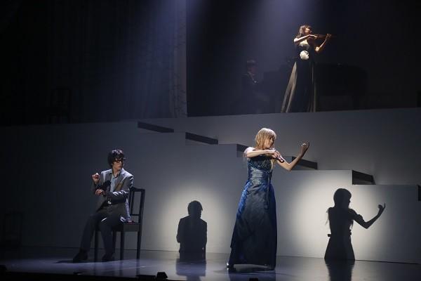 舞台「四月は君の嘘」より。(c)新川直司・講談社/エイベックス・ピクチャーズ株式会社